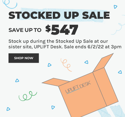 find our sales on our sister site, UPLIFT Desk