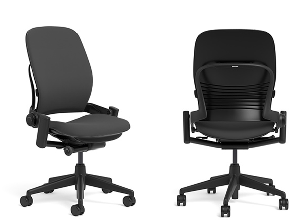 shop desk seating chair steelcase furniture leap office remanufactured