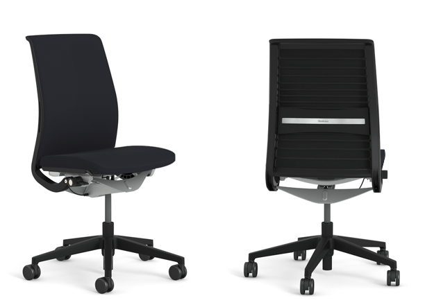 steelcase product think arms lumbar adjustable way chair
