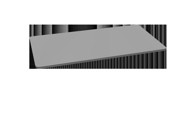 2-Leg Side Table Frame by UPLIFT Desk | Human Solution