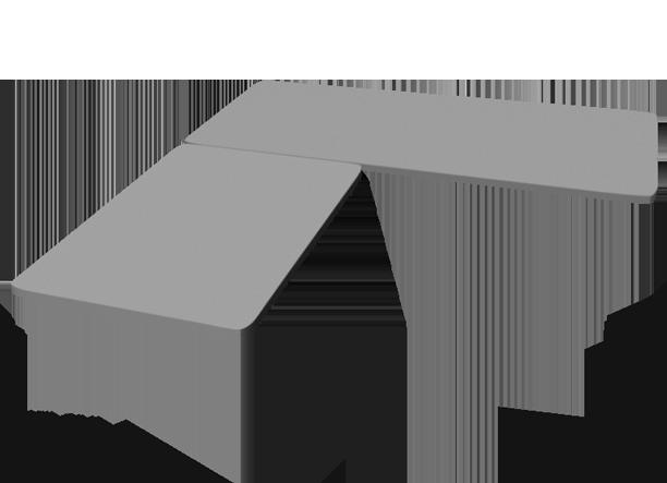 3-Leg Height-Adjustable Frame by UPLIFT Desk