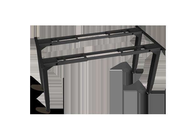 4-Leg Height-Adjustable Frame by UPLIFT Desk | Human Solution