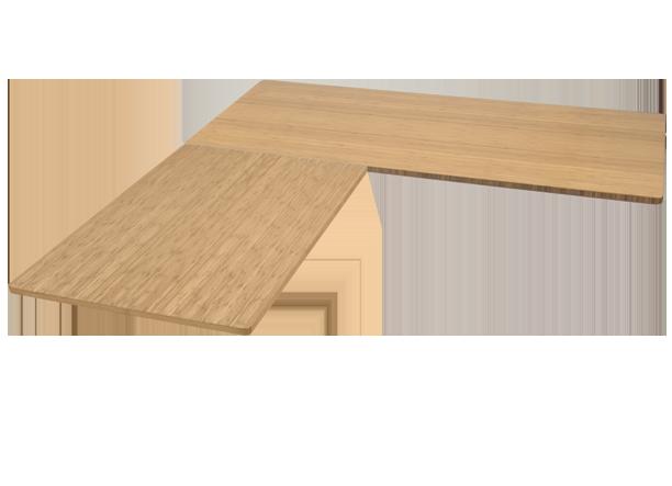 Shop UPLIFT Height Adjustable Standing Desk with LShaped Top