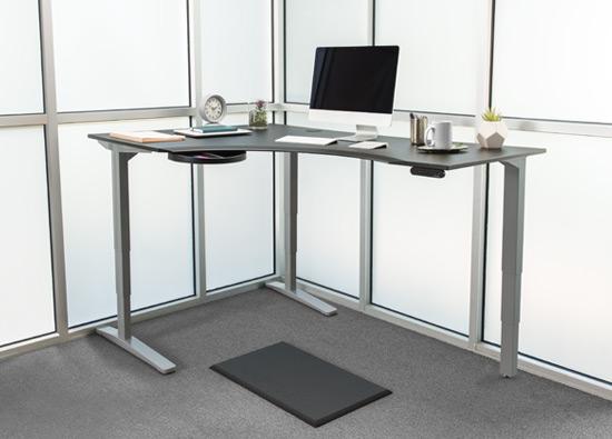Pre Configured Standing Desks Accessories Human Solution