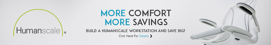 Build a Humanscale workstation and save