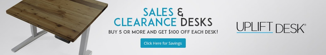Save big on UPLIFT Sale and Clearance Stand Up Desks