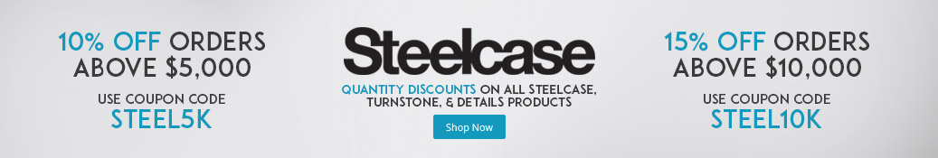 Steelcase quantity discount coupon codes