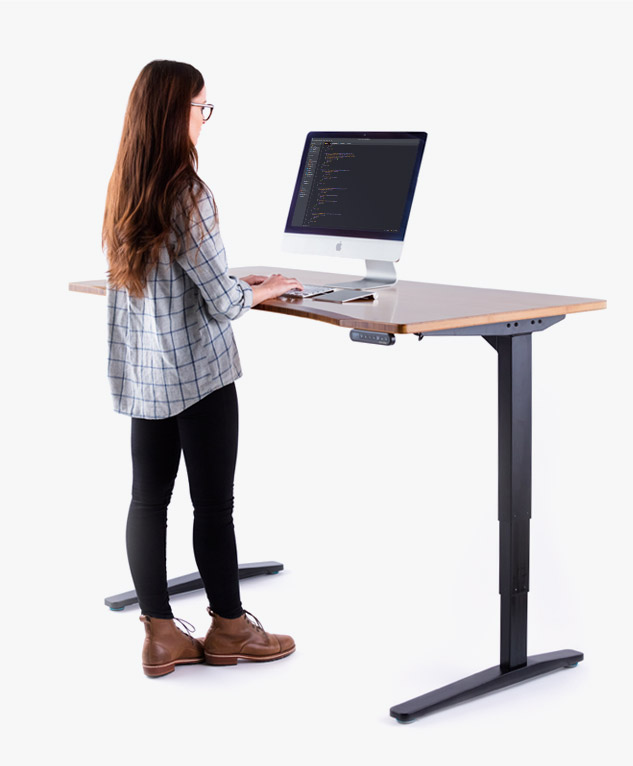 An UPLIFT Desk Height Adjustable Workstation