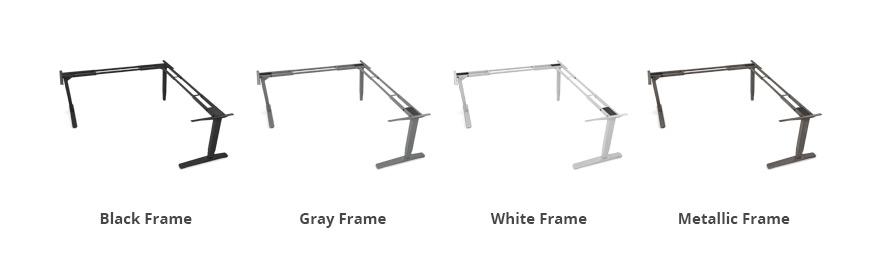3-Leg Height-Adjustable Frame by UPLIFT Desk | Human Solution