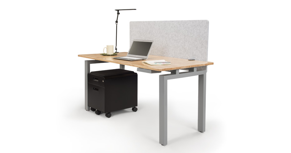 4-Leg Side Table by UPLIFT Desk