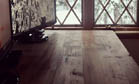 Douglas fir makes a desk feel like a home, complete with height adjustability
