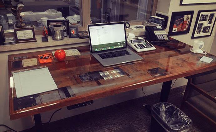 Make the adjustable height desk of dreams with our UPLIFT desk frames