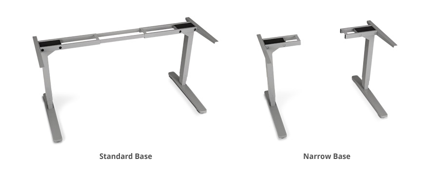 2-Leg Height-Adjustable Frame by UPLIFT Desk