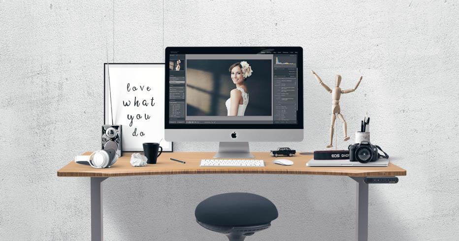 adjustable uplift desk standing discount height