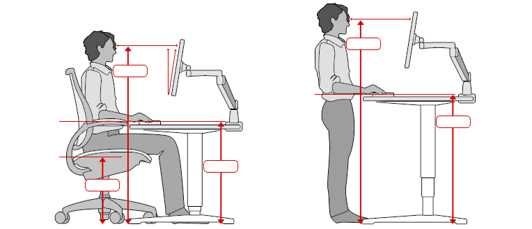 Ergonomic Workplace CalculatorErgonomic Office Desk  Chair  and Keyboard Height Calculator. Ergonomic Office Desk Chairs. Home Design Ideas